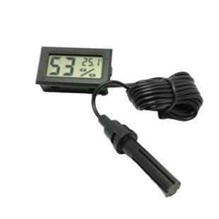 Termometer & Hygrometer - Digital