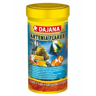 Dajana Artemia Flakes - Flingor - 250 ml