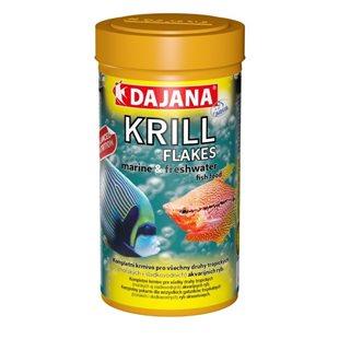 Dajana Krill Flakes - Flingor - 250 ml