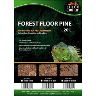 Terra Exotica - Forest Floor Pine 20 liter - 5-15 mm