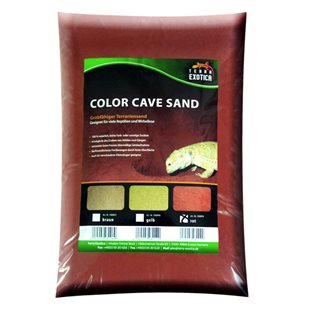 Terra Exotica - Color Cave Sand -  Red - 10 kg - Grävsubstrat