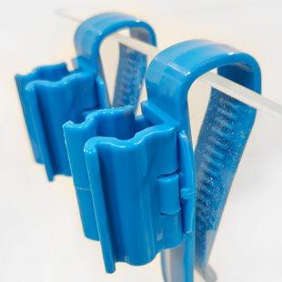 Ista - Slanghållare 8-22 mm - 2-pack - Justerbara clips
