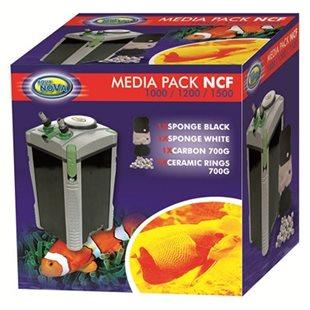 Aqua Nova Filtermedia utbyte till NCF 1000/1500