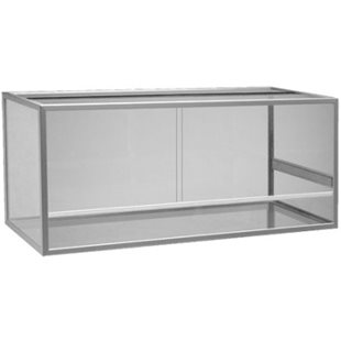 Terrarium - Aluminium - 95x40x50