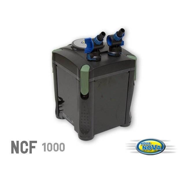 Aqua Nova - NCF-1000 - Ytterfilter - 1000 l/h