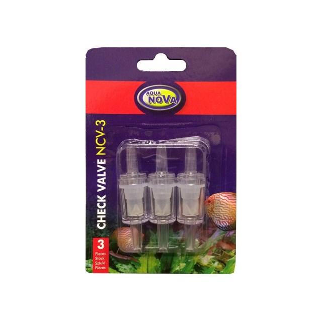 Aqua Nova - Backventil - 3-pack till 4/6 mm syreslang