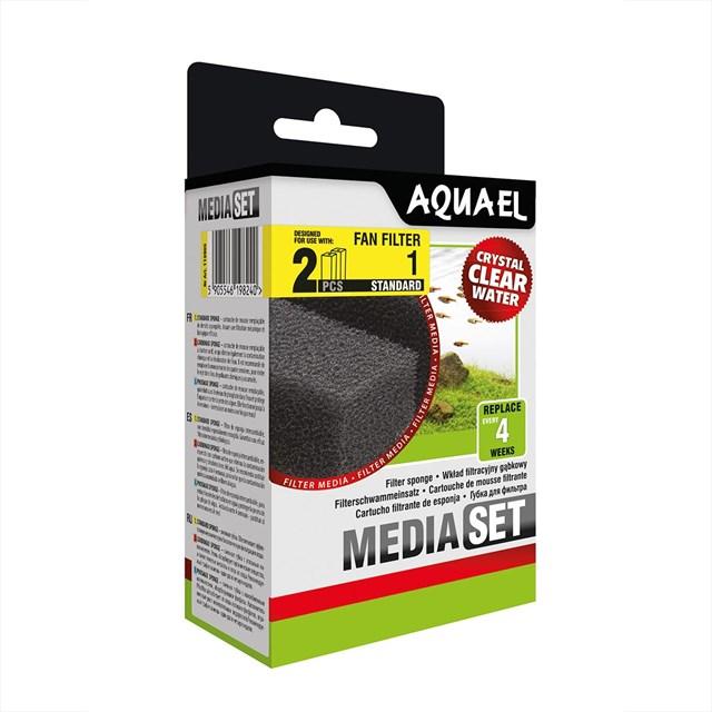 Aquael - Filterpatron Fan1+ 2-pack