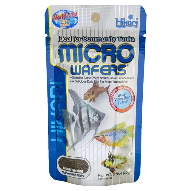 Hikari Micro Wafers - 20 g - Fiskfoder