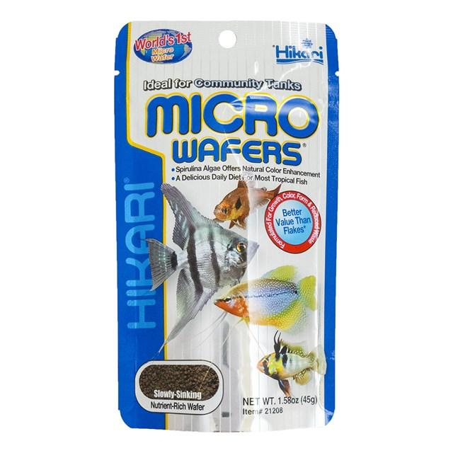 Hikari Micro Wafers - 45 g - Fiskfoder