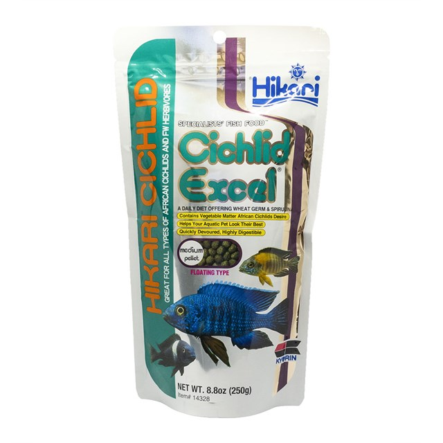 Hikari Cichlid Excel Medium Pellet - 250 g