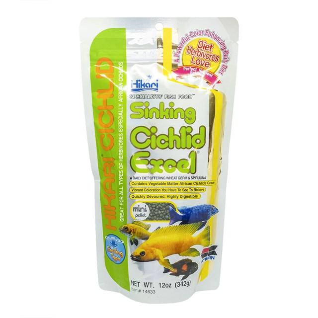 Hikari Sinking Cichlid Excel Mini Pellet - 342 g