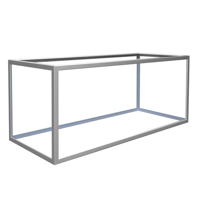 Akvarium - 310 liter - Aluminium - 125x50x50