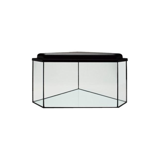 Hörnakvarium 182 liter - med belysning