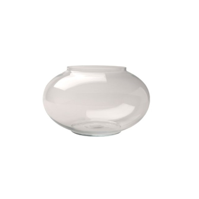 Glaskupa / Guldfiskskål - 24 cm -  4,3 liter