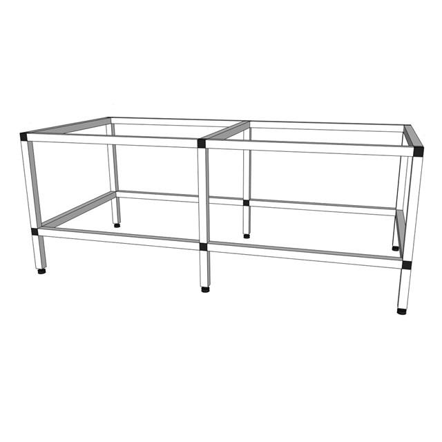 Akvarieställning i aluminium - 310 liter