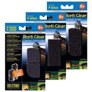 Exo Terra Repti Clear F250 Fin Filtermatta