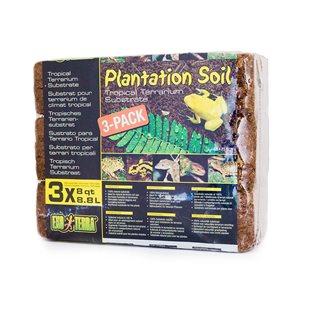 Exo Terra Plantation Soil - 3X8.8L - Tropiskt Substrat