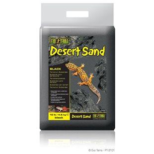 Exo Terra Desert Sand - Svart - 4,5 kg