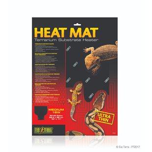 Exo Terra Heat Mat - Värmematta - 16 W - 27x28 cm
