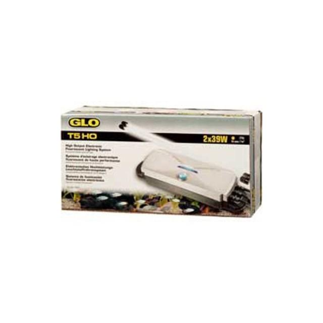 Lysrörshållare Glo T5 - 2X54W Ho