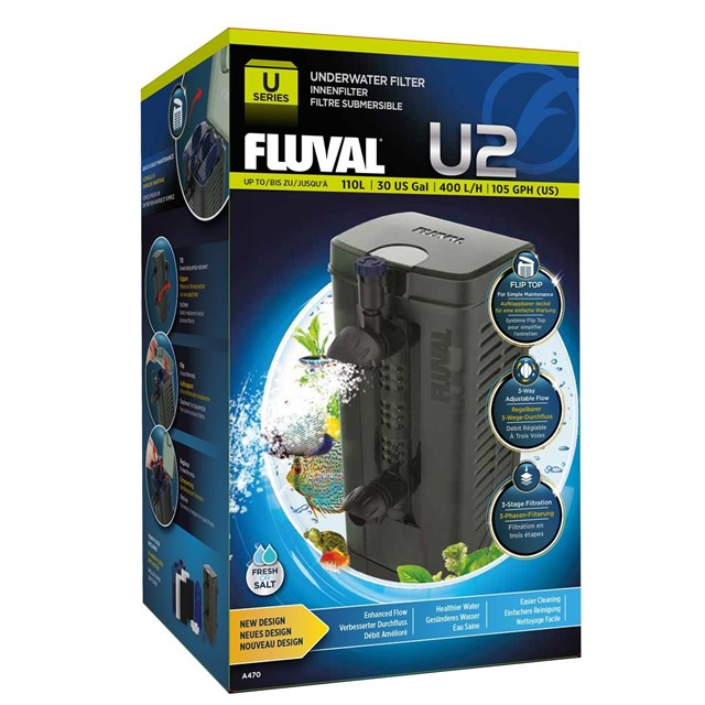 Fluval U2 - 400 l/h - Innerfilter