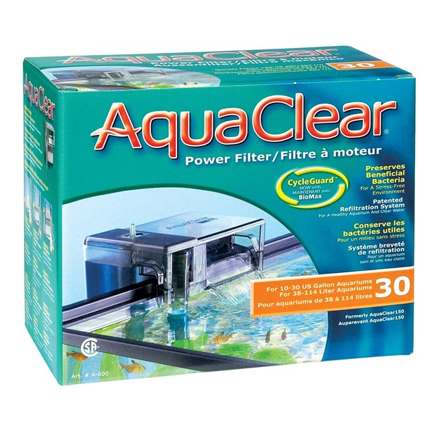 AquaClear 30 Powerfilter - Påhängsfilter