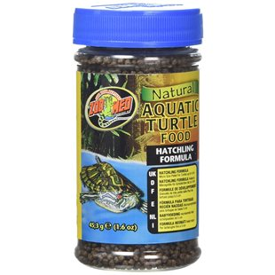 Zoo Med Natural Aquatic Turtle Food - 45 g - Hatchling Formula