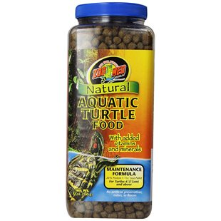Zoo Med Natural Aquatic Turtle Food - 340 g - Maintenance Formula