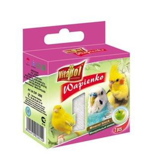 Vitapol Mineralsten - Fågel - Äpple - 35 g