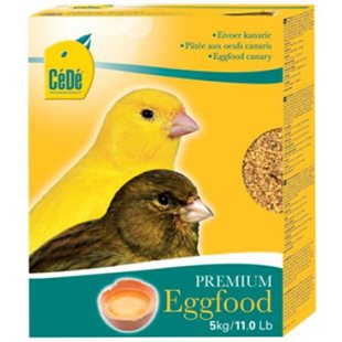 Cede Äggfoder - 5Kg - Eggfood Canaries