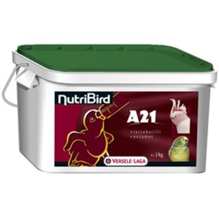 Handuppmatning A21 - 3Kg - Nutribird - 21% Protein