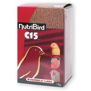 Nutri Bird C 15 - Pellets För Kanarie och fink - 1Kg