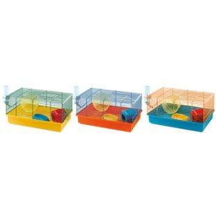 Hamsterbur Criceti 9 - Färgmix - Ferplast - 46x29x25