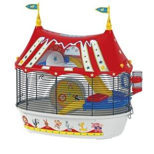 Hamsterbur Circus Fun - Ferplast - 49.5x34x42.5