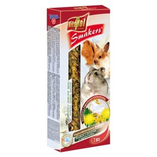 Vitapol Smakers - Gnagare - Yoghurt & Maskros - 90 g