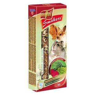 Vitapol Smakers - Gnagare - Grönsaker - 90 g