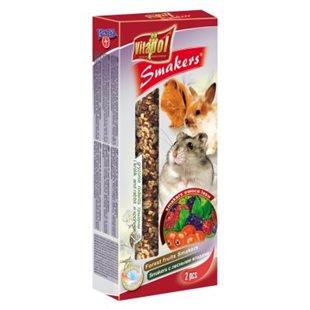 Vitapol Smakers - Gnagare - Skogsbär - 90 g