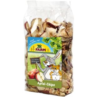 Jr Farm - Torkade Äppelchips - 80g