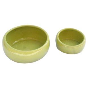 Keramikskål - Ergonomisk - Limegrön - 420 ml