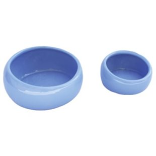 Keramikskål - Ergonomisk - Ljusblå - 420 ml