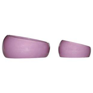 Keramikskål - Ergonomisk - Ljusrosa - 420 ml