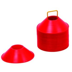Akita Markeringskona - Låg - Röd - Höjd 6 Cm