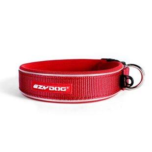 EzyDog Neo L - Röd - Hundhalsband 46-51 cm