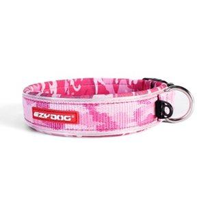 EzyDog Neo XS - Rosa Camo - Hundhalsband 30-33 cm