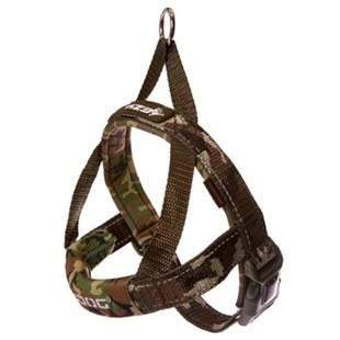 Ezy Dog Sele Quick Fit Camo Neopren Xl 35Kg+  Justerbar