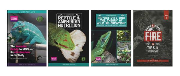 Reptilböcker & terrarieböcker