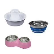 Matskål - Vattenfontän för hund