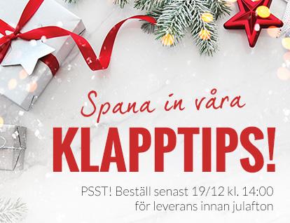 Spana in våra julklappstips!