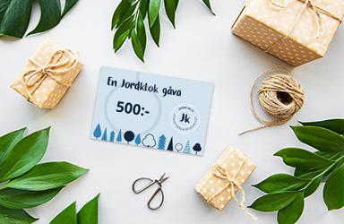 Köp ett digitalt presentkort till din jordkloke vän!