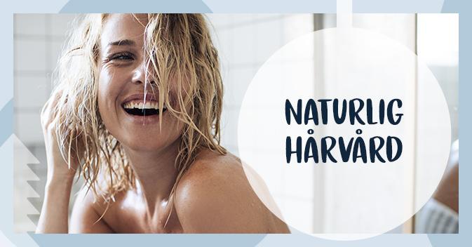 Naturlig hårvård